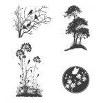 Flowers, Leaves & Trees