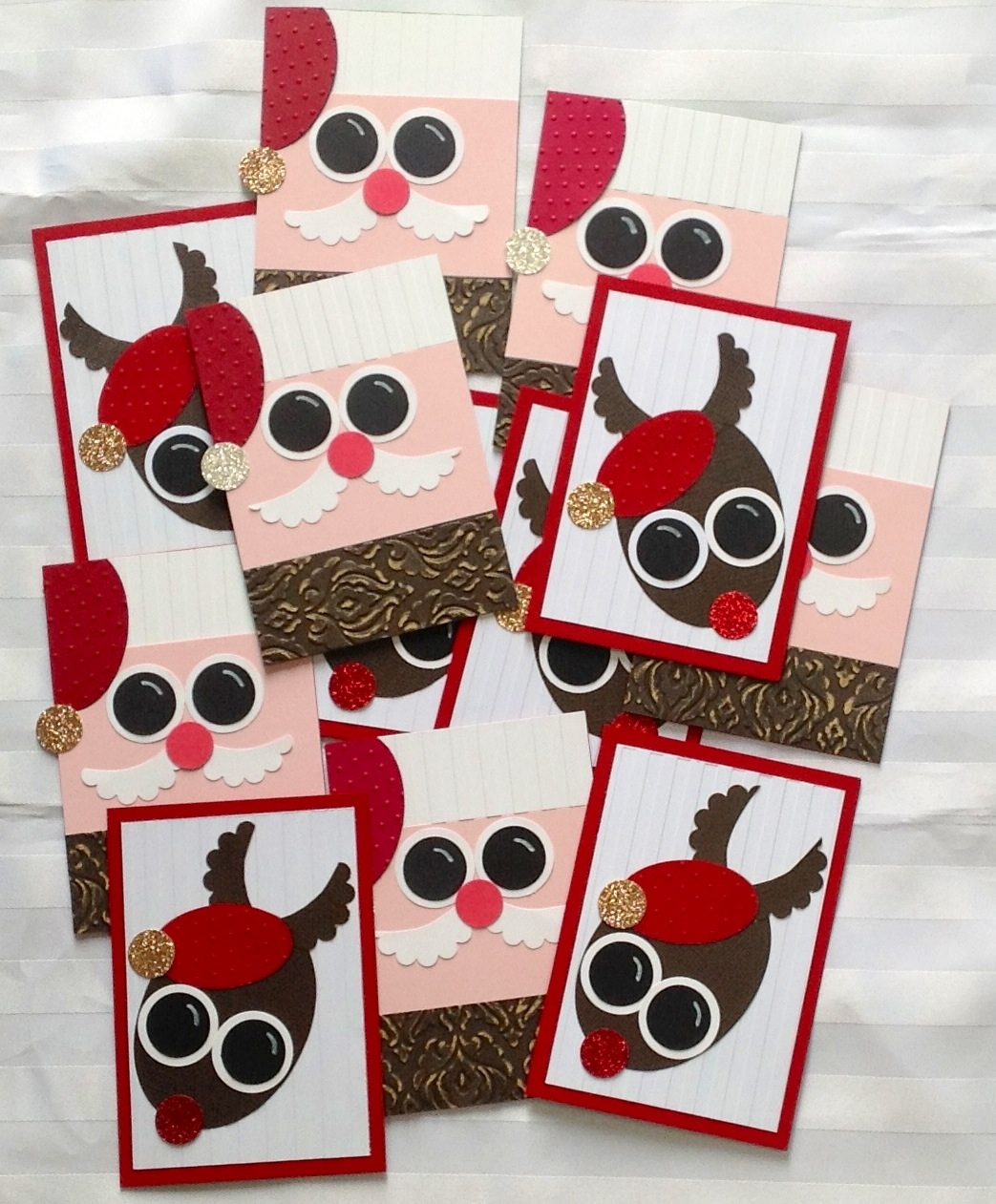 Big Shot and Punch Art Christmas Cards from Alpha\'s Blog on Alphacrafts