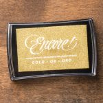Gold Metallic Encore Pad