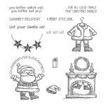 On Photopolymer StampGet Your Santa Set