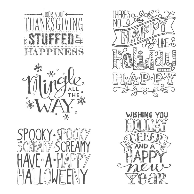 mingle all the way clear mount stamp set
