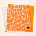 Fluttering Textured Impressions Embossing Folder