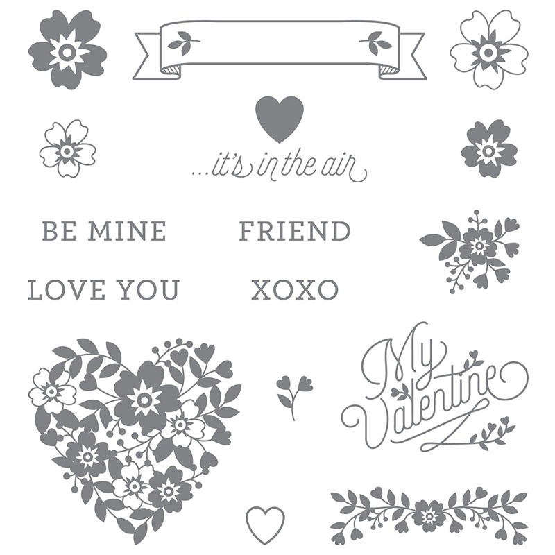 Bloomin Love Photopolymer Stamp Set From Stampin Up Available Alphacrafts