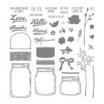 Jar Of Love Photopolymer Stamp Set
