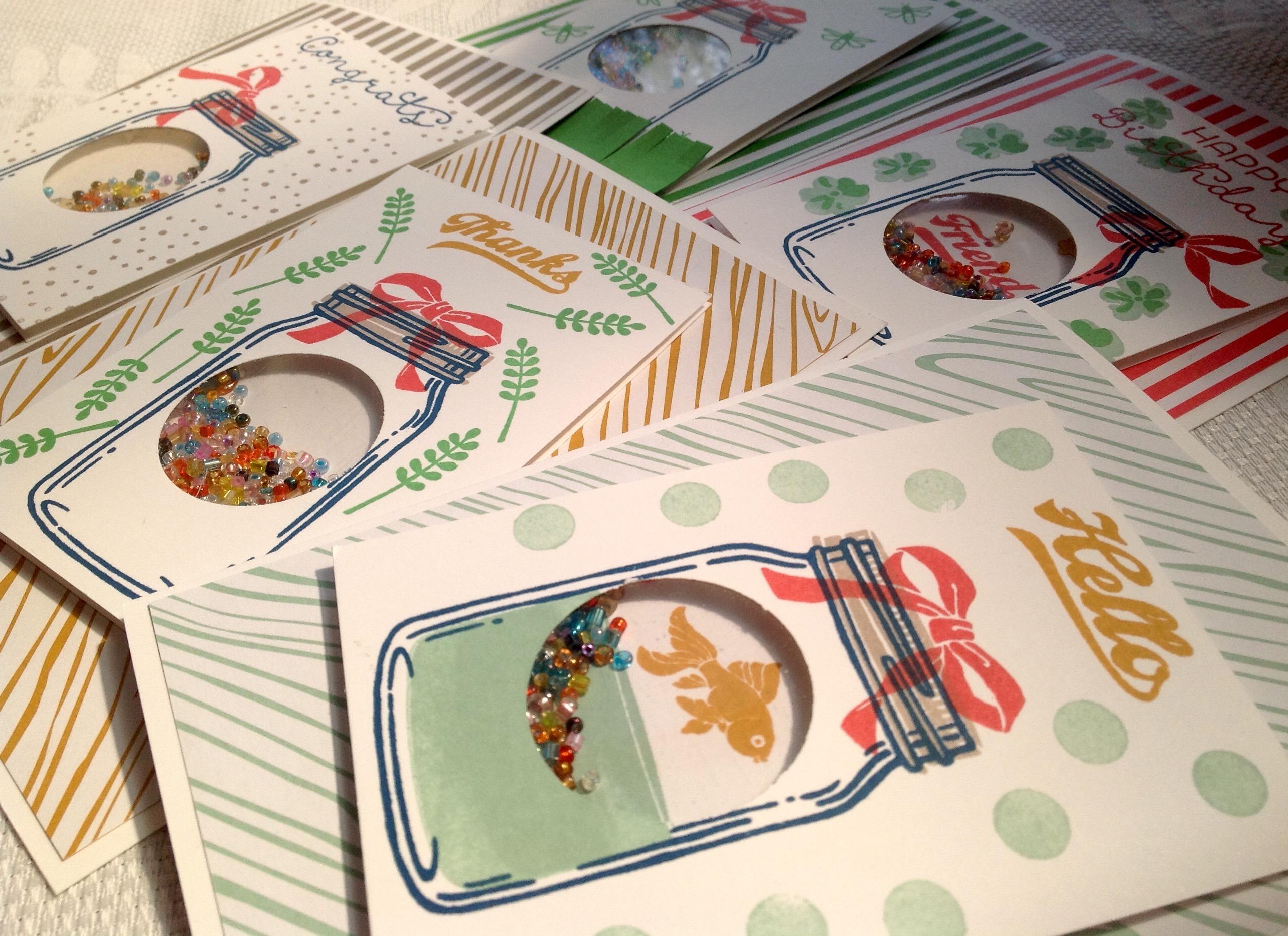 Card Inspiration - Shaker Card