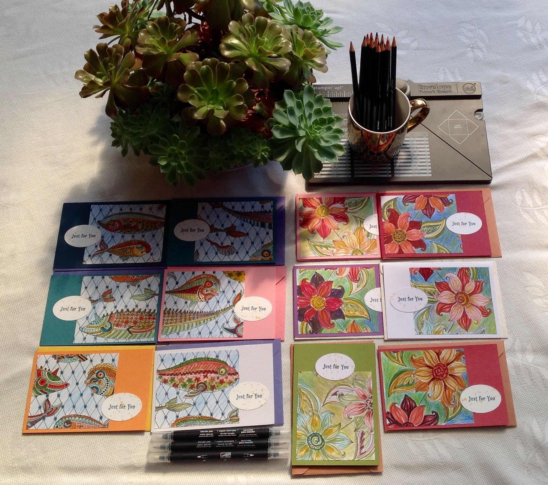 Card Inspiration - Colouring Books