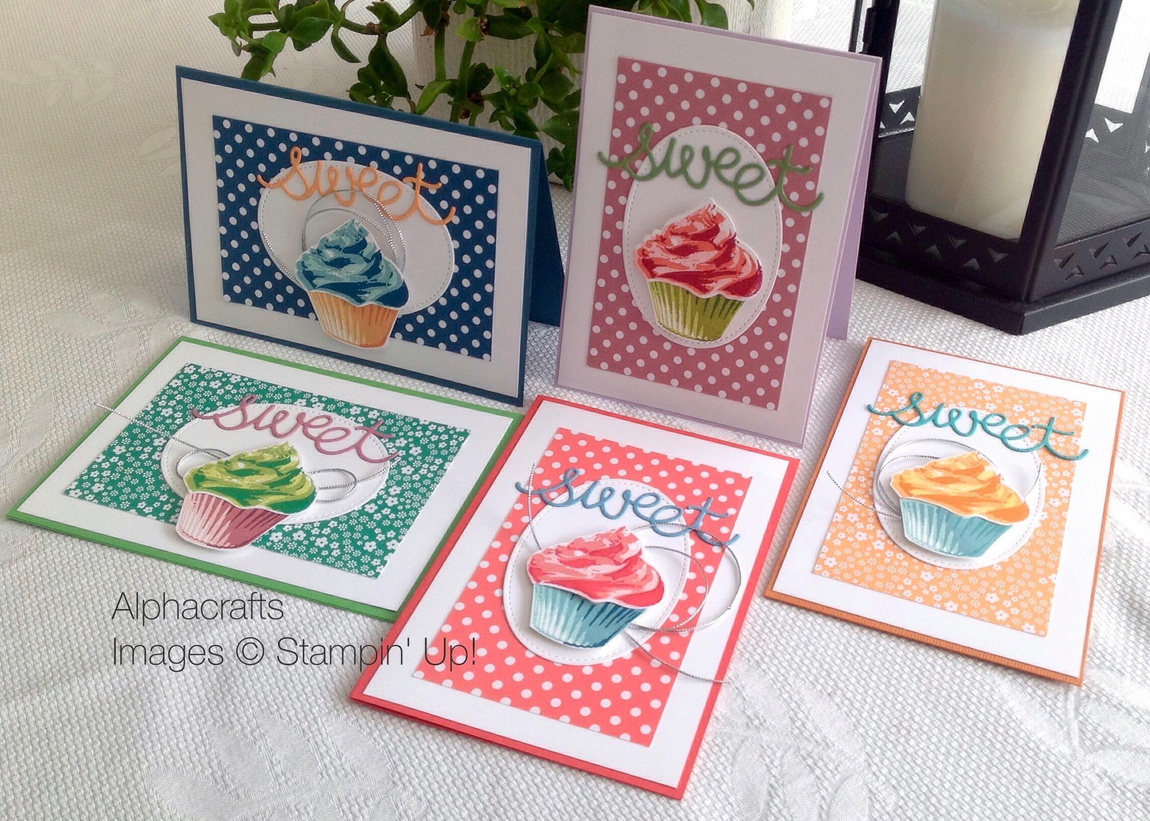Card Inspiration - Sweet Cupcakes