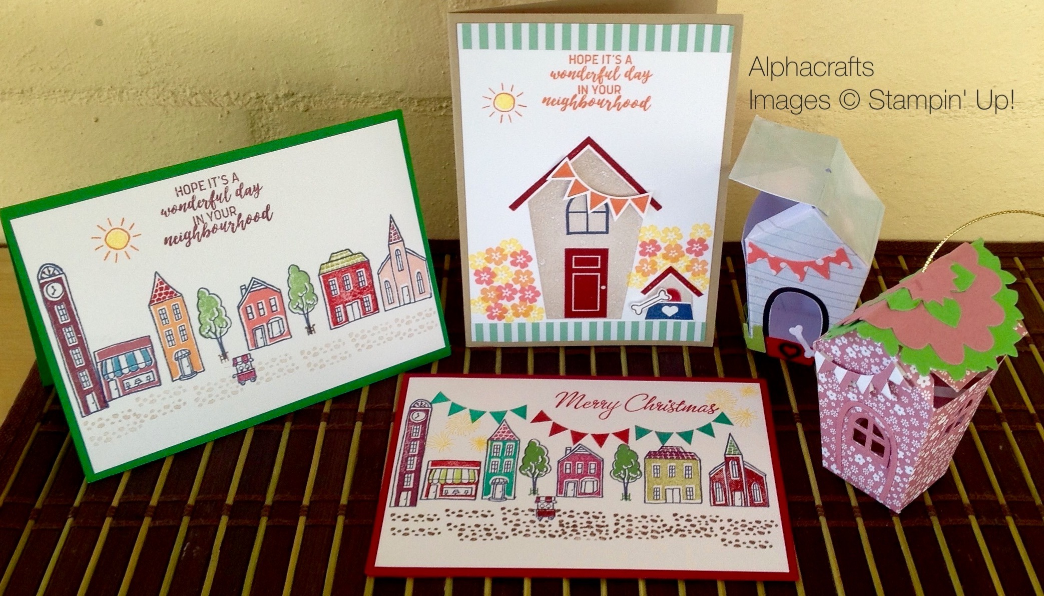 Card Inspiration - Lovely Day In The Neigbourhood