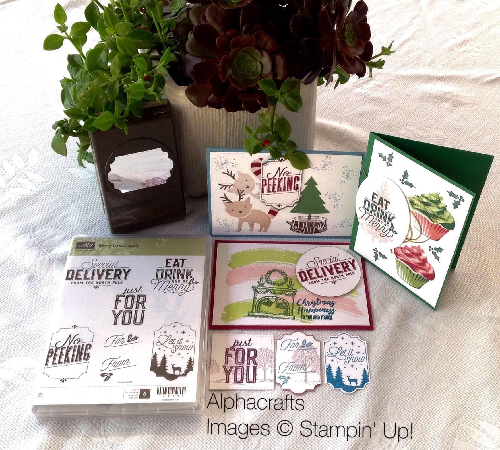 Christmas Inspiration - Merry Little Labels
