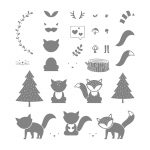 Foxy Friends Photopolymer Stamp Set
