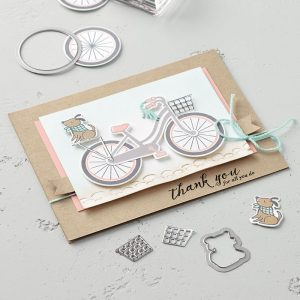 Build A Bike Card Sample