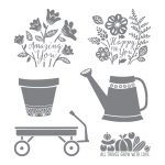 Grown With Love Clear-Mount Stamp Set