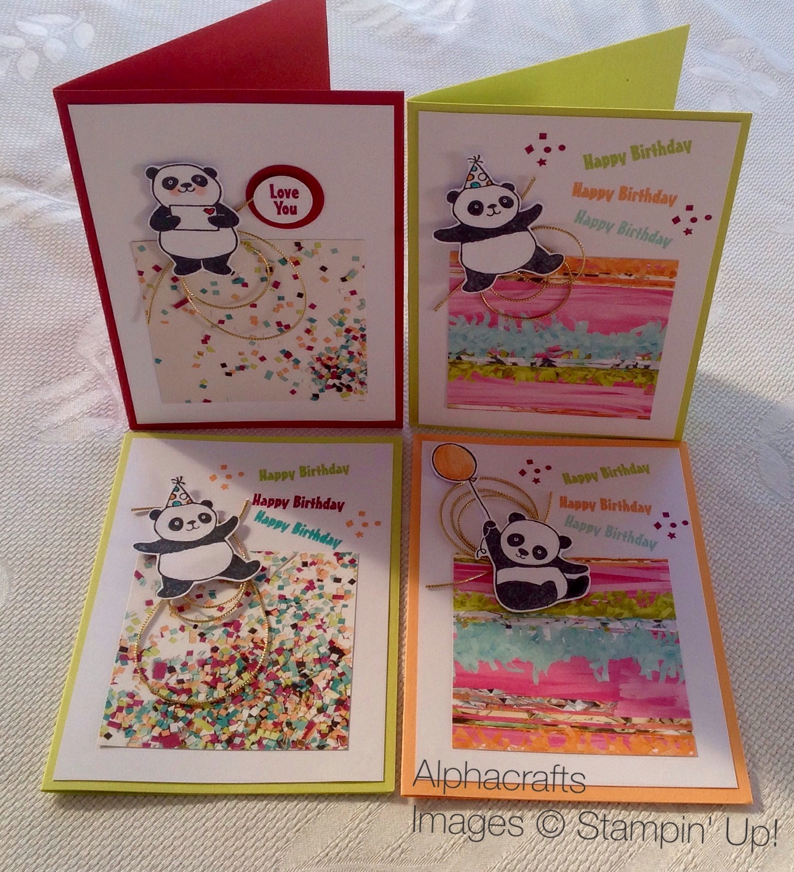 Card Inspiration - Party Pandas