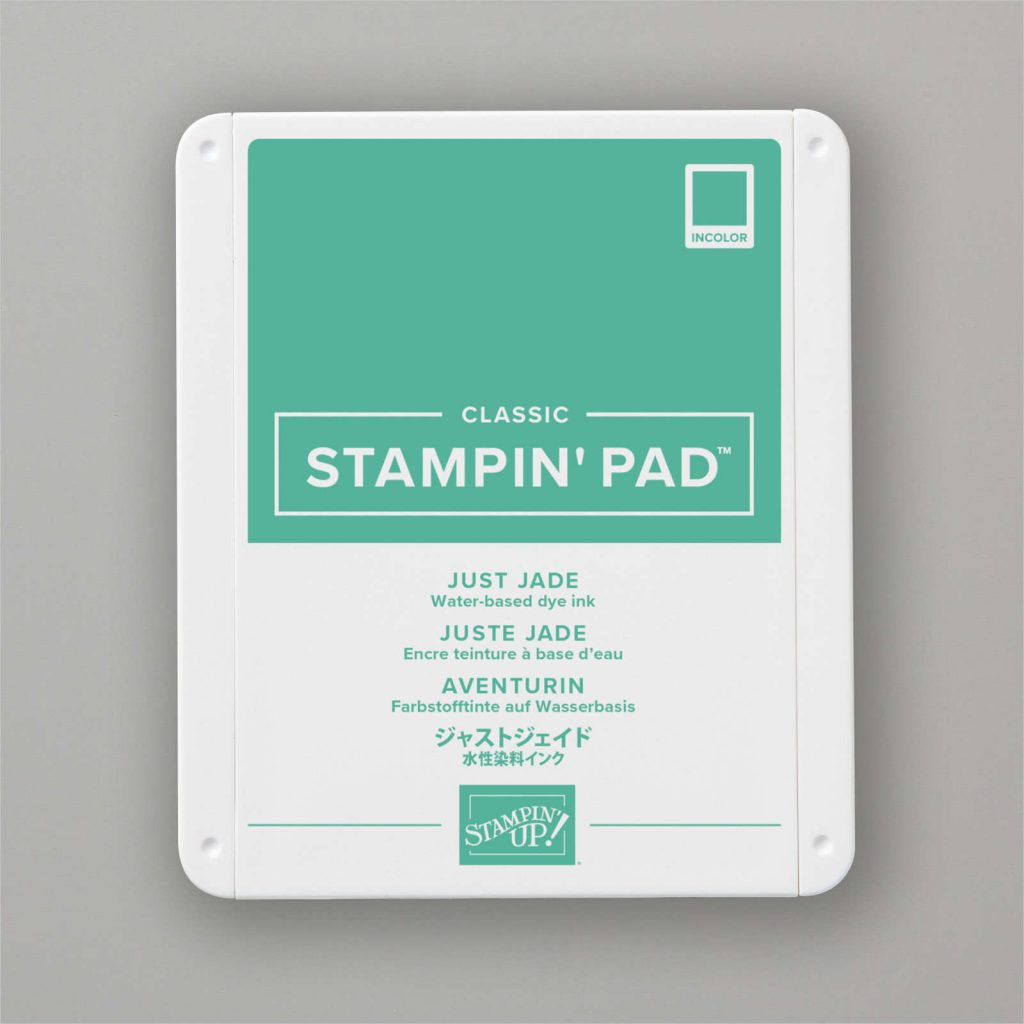 Colour of the Week - Just Jade Classic Stampin' Pad from Stampin' Up!.